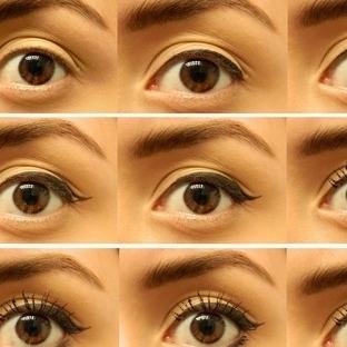 Eyeliner Nasıl Sürülür Resimli