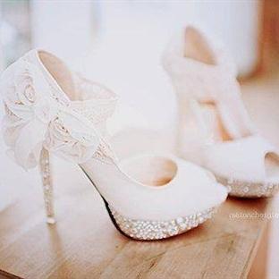 Gelinlik Ayakkabısında Son Moda Heberler