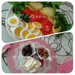 Hafta Sonu Kahvaltı Masası ve Düzeni