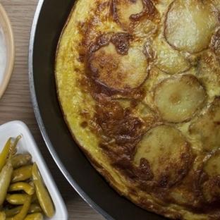 Halka Patatesli Omlet