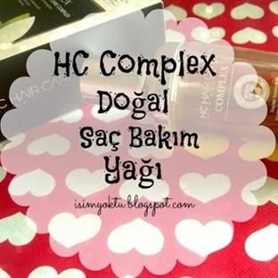Hc Complex Saç Bakım Yağı