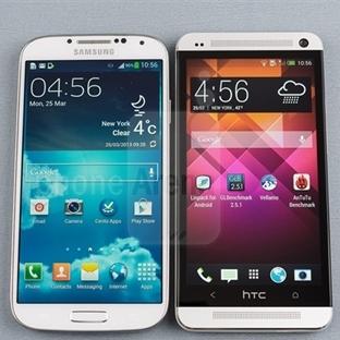 HTC ONE ve Galaxy S4 Karşılaştırması