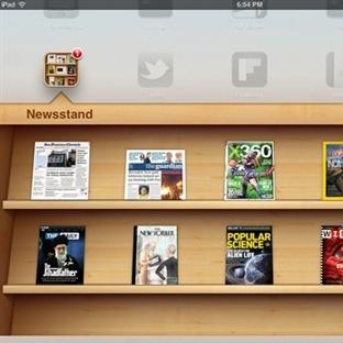 IOS'ta NewStand Uygulaması