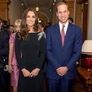 Kate Middleton: Jenny Packham Siyah Elbise