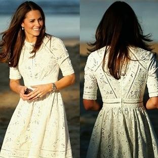 Kate Middleton: Zimmermann Roamer Elbise