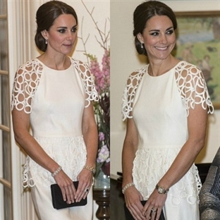 Kate Middleton: Catherine Walker & Lela Rose Elbis