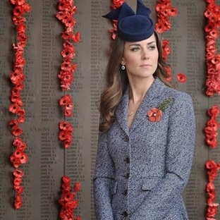 Kate Middleton: Michael Kors Manto
