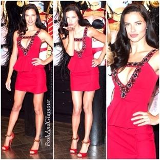 Kırmızılar İçerisinde Bir Güzel:Adriana Lima