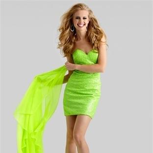 Kısa Abiye Modelleri 2014 Davetiye Elbiseleri