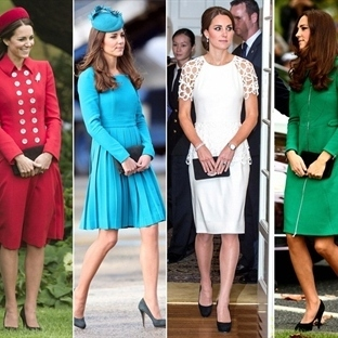 Kraliyet Turu | Kate Middleton Stili