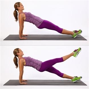 Kusursuz Bacaklar İçin 5 Pratik Egzersiz (Resimli)
