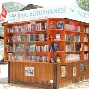 İlk Plaj Kütüphanesi Fethiye'de