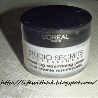 Loreal Studio Secrets Smoothing Resurfacing Primer