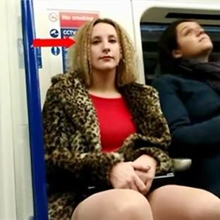 """Metroda Kadınlara """"Cinsel Davranış"""" Deneyi [Video]"""