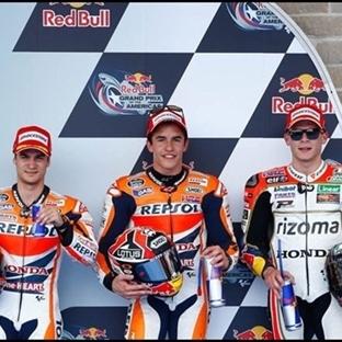 MotoGP: Austin'de de Pole Marc Marquez'in