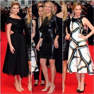 'Other Woman' Londra Galasında Üç Güzel