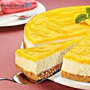 Pratik Portakallı Cheesecake Nasıl Yapılır?