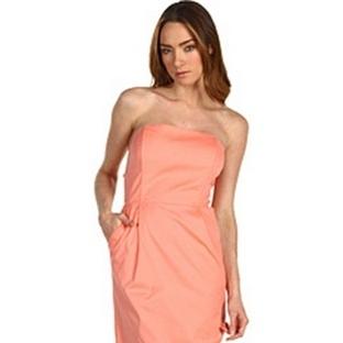 Pudra rengi abiye elbise modelleri