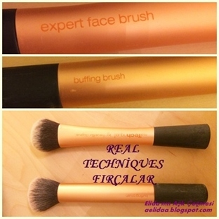 REAL TECHNİQUES:Expert face brush / buffing brush!