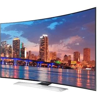 Samsung'dan dünyanın ilk kavisli UHD televizyonu!