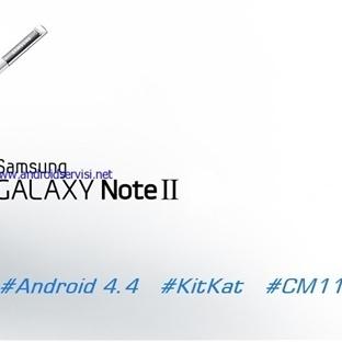 Samsung Galaxy Note 2 Android KitKat Güncellemesi