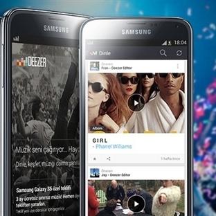 Samsung ve Deezer'dan inanılmaz ortaklık!