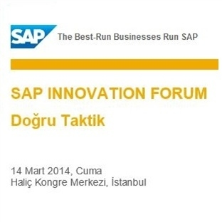 SAP Innovation Forum Ardından…