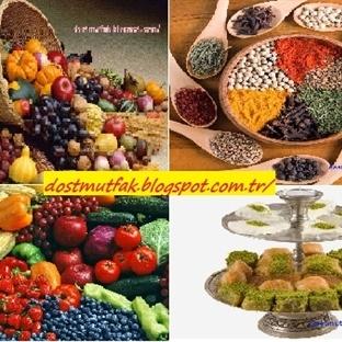 Sebze Meyve Baharat ve Tatlı Kalori Rehberi
