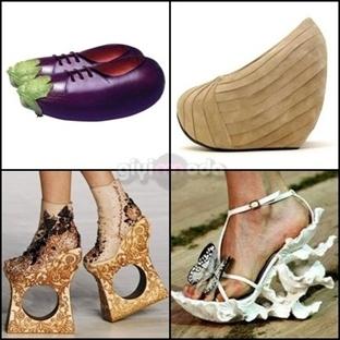 Sıra Dışı ve Farklı Ayakkabı Modelleri