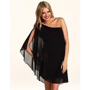 Siyah mini gece elbiseleri