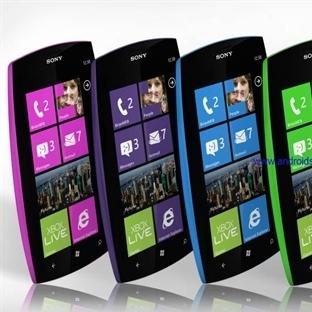 Sony Windows Phone Kullanmaya Başlıyor
