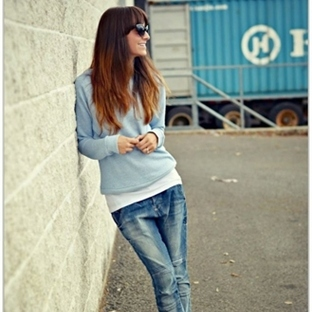 Street Style / Baby Blue
