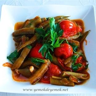 Taze Bezelye, Bakla, Kabak Salatası