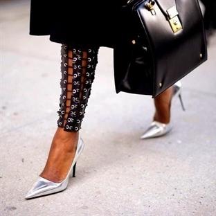 Trend: Metalik Ayakkabı