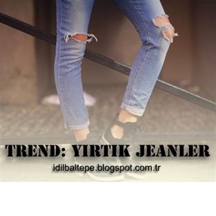 Trend: Yırtık Pırtık Blue Jean!