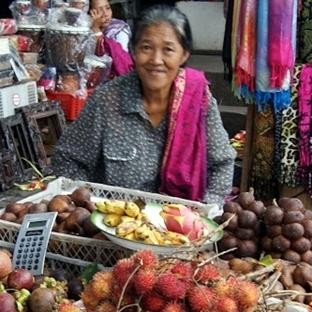 Ubud/Bali'de pazar yeri