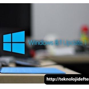 Windows 8.1 Güncellemesi Çıktı, Şimdi İndirilebili