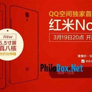 Xiaomi 5.5 inç Octo-Core Redmi Note Akıllı Telefon