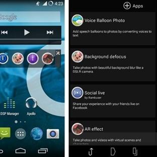 Xperia Kamera App Xperia CM11 için Portlandı!