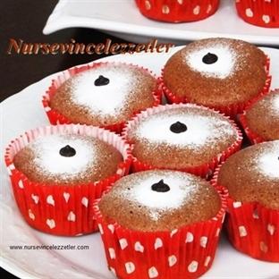 Yağsız Minik Pandispanya Muffin Tarifi
