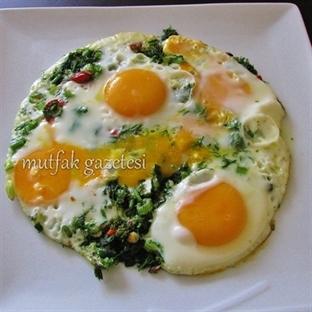 Yumurtalı arapsaçı(rezene) kavurması tarifi