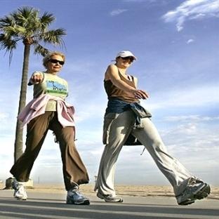 Yürürken vücudumuzun her bölgesi rahatlıyor