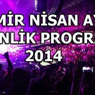 İzmir Nisan Ayı Etkinlik Programı 2014