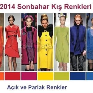 2014-2015 Sonbahar Kış Moda Renkleri