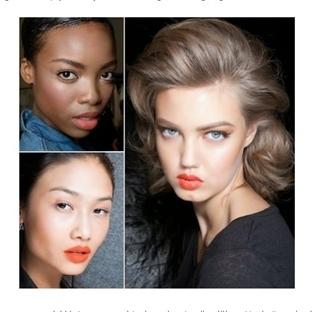 2014 İlkbahar - Yaz Kozmetik Trendleri