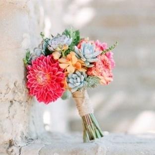 2014′ün En Güzel Gelin Çiçekleri