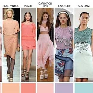 2014 yaz hangi renkler moda