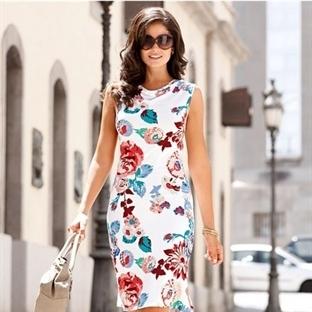 2014 Yazlık Bayan Gömlek Elbise Modelleri