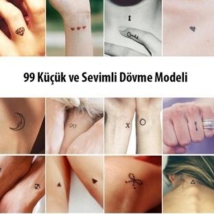 99 Sevimli ve Küçük Dövme Modeli