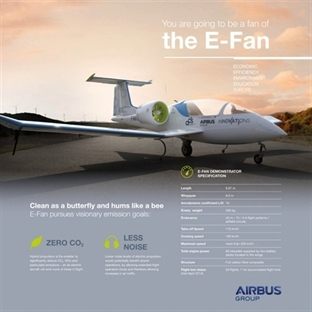 Airbus E-Fan Elektrikli Uçak Başarılı Oldu